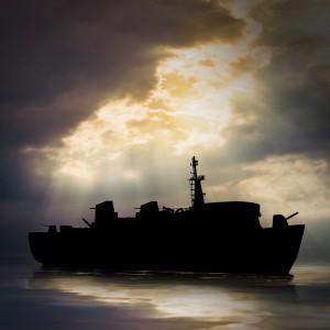 Ghost ship modern
