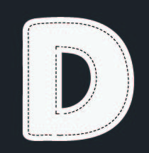 Seafaring A-Z Alphabet - D is for...