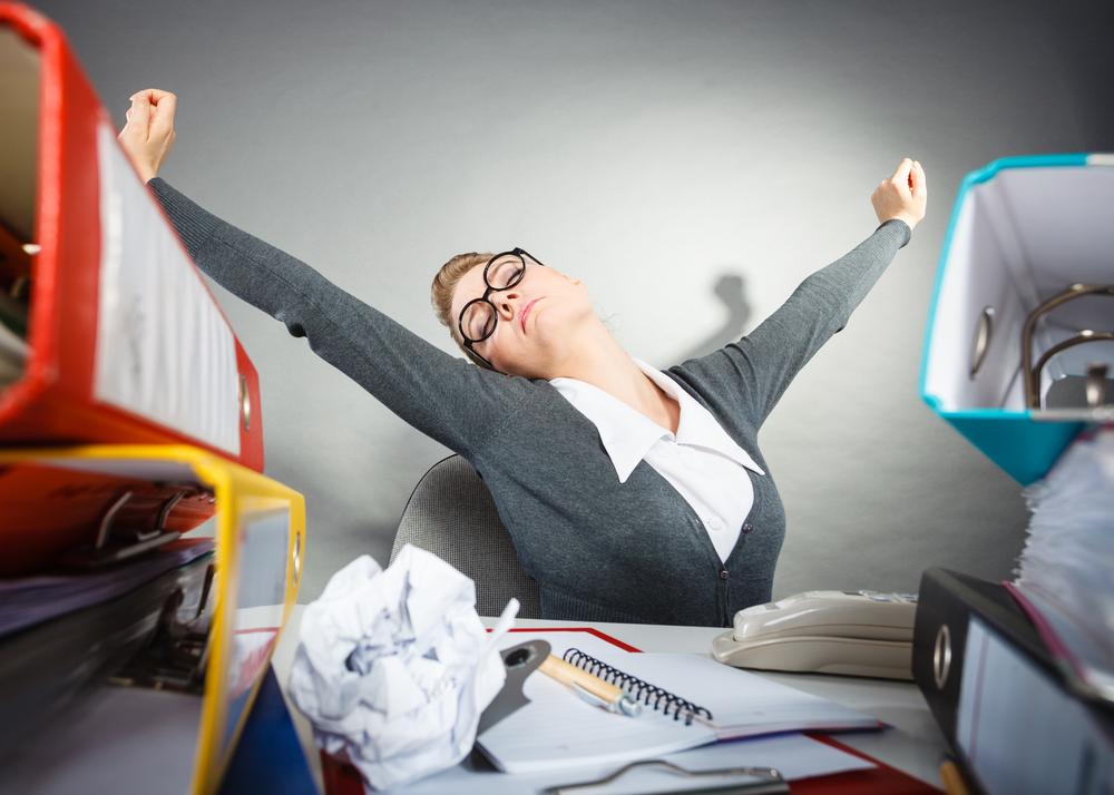 Yawn, Stretch, Fighting Work Boredom