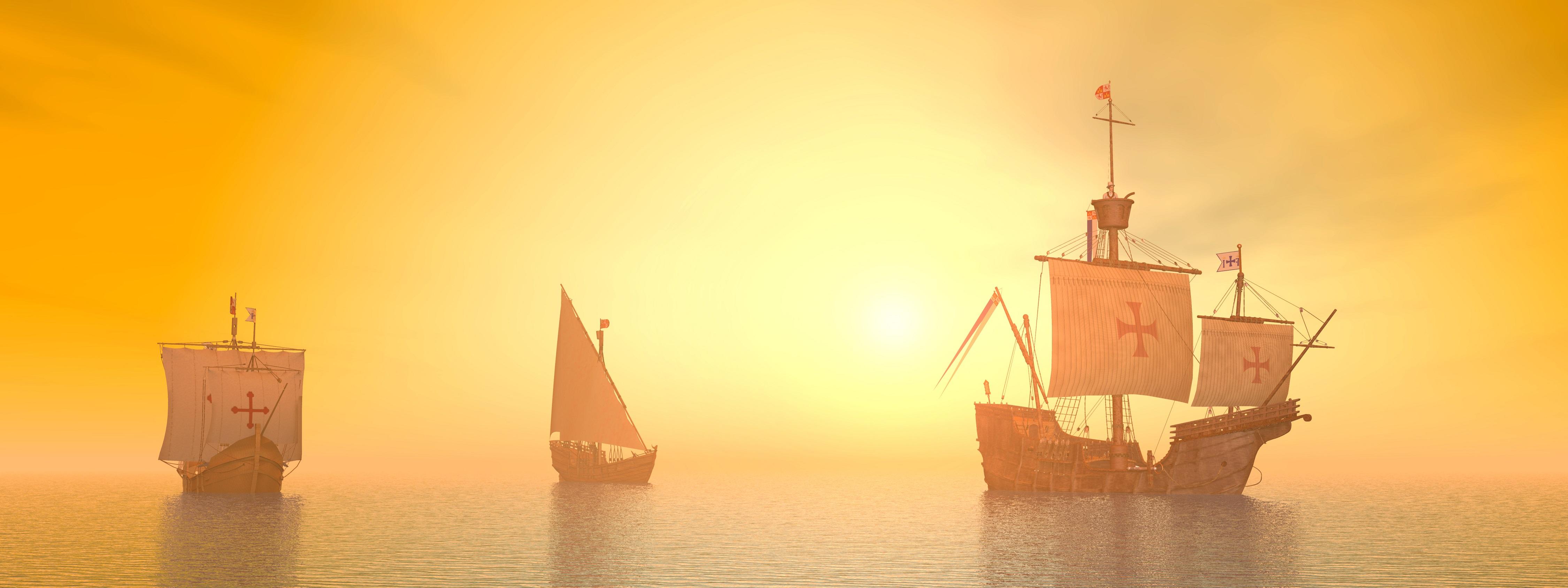 Christopher columbus' ships - Crewtoo